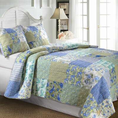 Greenland Home Fashions Katy Quilt Collection | Wayfair