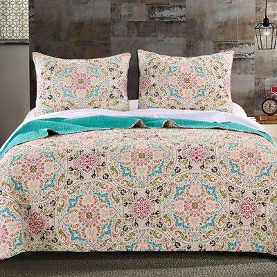 Morocco Cotton Quilt Set Size: Twin