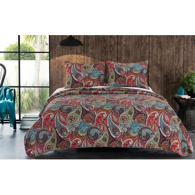 Tivoli Quilt Set Size: Full/Queen