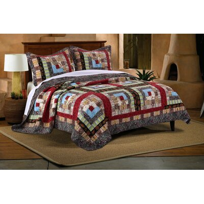 Clarkshire Reversible Quilt Set Size: King