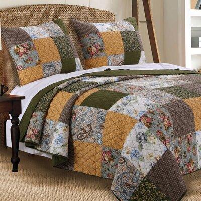 Cedar Creek Quilt Set Size: King