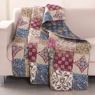 Charmed Cotton Throw Blanket
