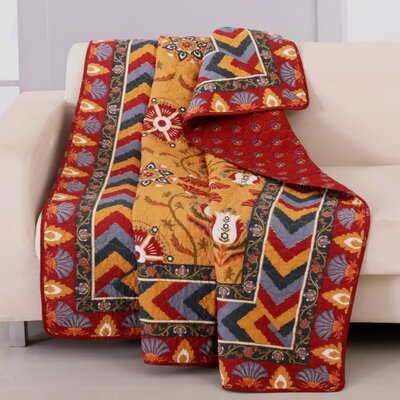 Farrah Cotton Quilted Throw