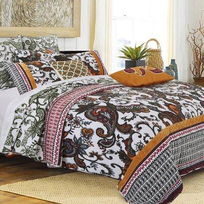 Orleans Reversible Quilt Set Size: King