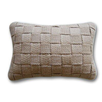 Hemp Weave Cotton Lumbar Pillow