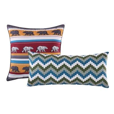 Black Bear Lodge 2 Piece Pillow Set