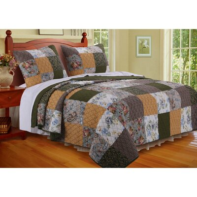 Cedar Creek Quilt Set Size: King