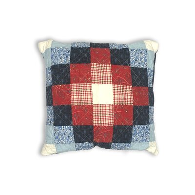 Boardwalk Decorative Cotton Shell Throw Pillow