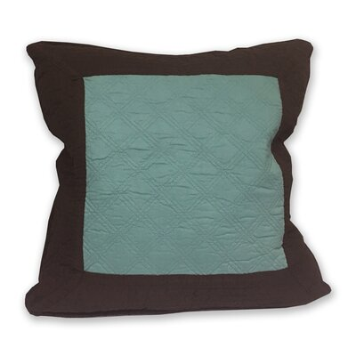 Brentwood Throw Pillow Color: Blue Surf