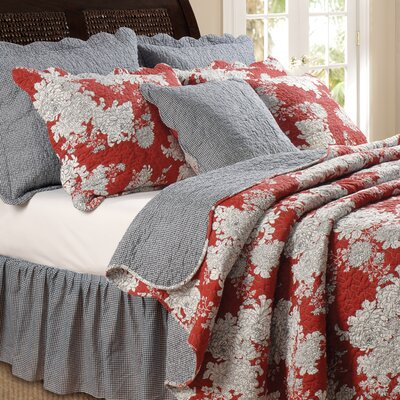 Greenland Home Fashions Antique Rose Bonus Quilt Set | Wayfair