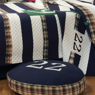 Rugby Cotton Throw Pillow