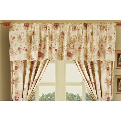 Greenland Home Fashions Antique Rose Cotton Tailored Window Valance at Sears.com