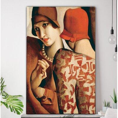 'Les Confidences' Oil Painting Print on Canvas ORNL2967 45515565