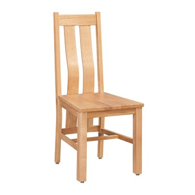 Ransom Solid Wood Dining Chair Color: Golden Oak