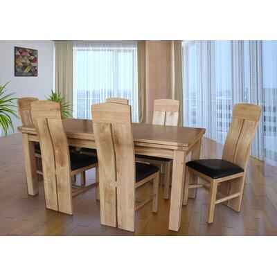 Pecor 7 Piece Extendable Dining Set Color: Light Dark Oak