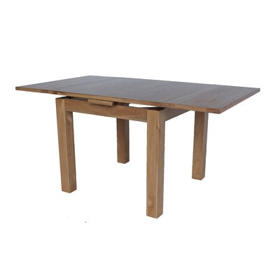 Badalamenti Square Extendable Dining Table Color: Natural Oak