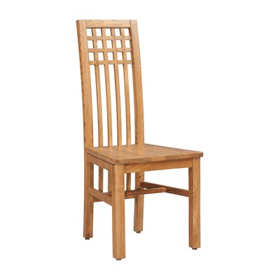Koome Solid Wood Dining Chair Color: Golden Oak
