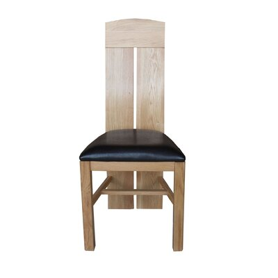 Kiazolu Upholstered Dining Chair Frame Color: Golden Oak