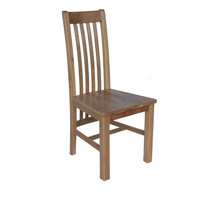 Covarrubias Solid Wood Dining Chair Color: Natural Oak