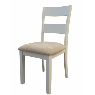 Emmalynn Solid Wood Dining Chair Frame Color: White