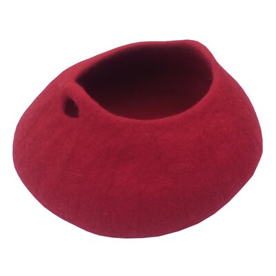 Napee Cat Bed Color: Maroon