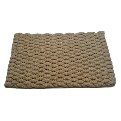 Kassie Super Duty Pet Mat Size: 38 W x 1.25 D x 24 H, Color: Tan
