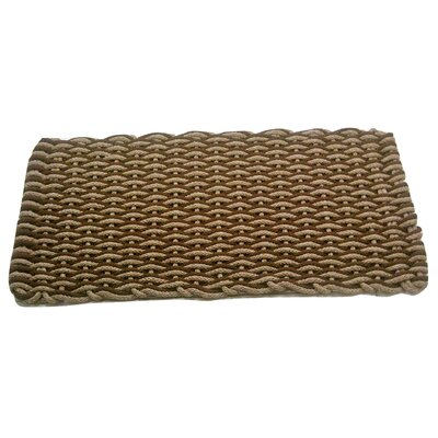 Ateao Texas Doormat Mat Size: 18 x 26, Color: Tan/Brown
