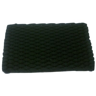 Arron Doormat Mat Size: 18 x 32, Color: Black