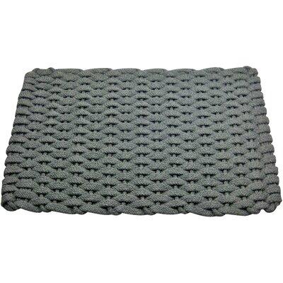 Arron Doormat Mat Size: 18 x 32, Color: Gray