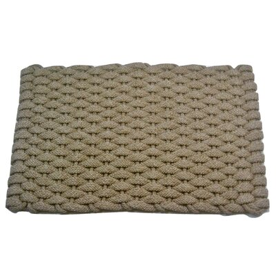 Arron Doormat Mat Size: 18 x 32, Color: Tan