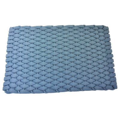 Arron Doormat Mat Size: 18 x 32, Color: Light Blue