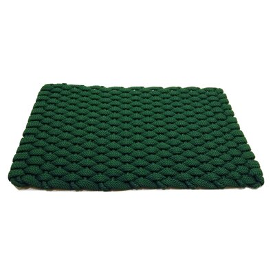 Arron Doormat Mat Size: 18 x 210, Color: Green