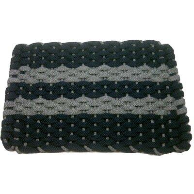 Deija Doormat Mat Size: 18 x 32, Color: Gray