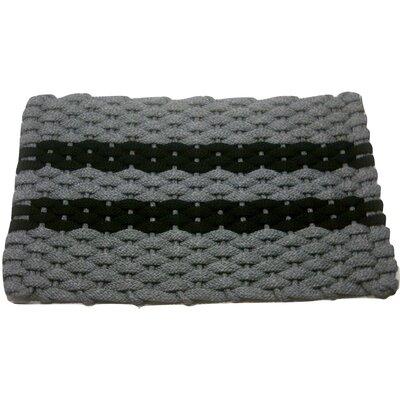 Deija Doormat Mat Size: 2 x 32, Color: Black