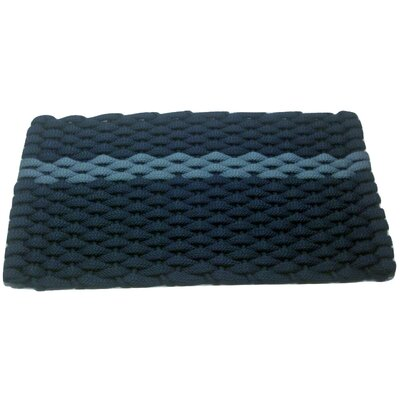 Catalin Doormat Mat Size: 18 x 26, Color: Blue/Navy