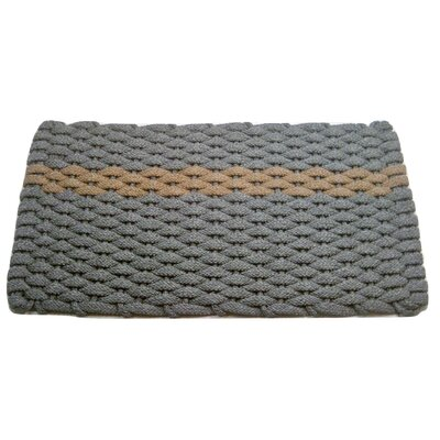 Catalin Doormat Mat Size: 18 x 32, Color: Gray/Tan