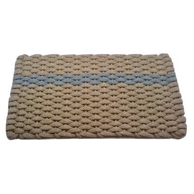 Catalin Doormat Mat Size: 2 x 32, Color: Tan/Gray