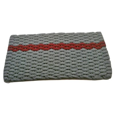 Catalin Doormat Mat Size: 18 x 32, Color: Gray/Rose