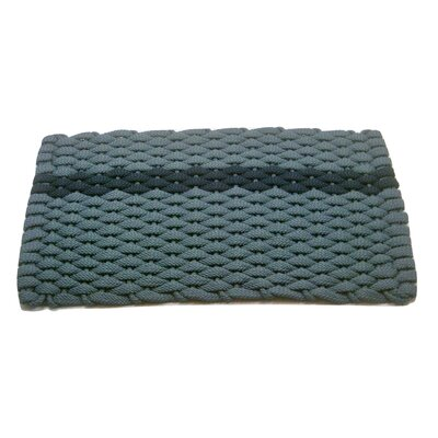 Catalin Doormat Mat Size: 2 x 32, Color: Navy/Light Blue