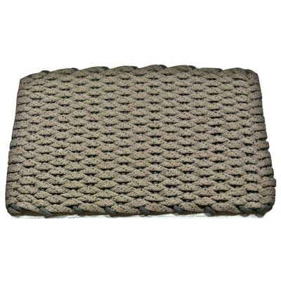 JoLinda Doormat Mat Size: 18 x 32, Color: Tan/Brown