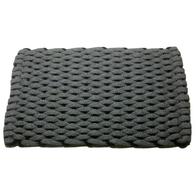 Dreanda Doormat Mat Size: 18 x 32, Color: Gray