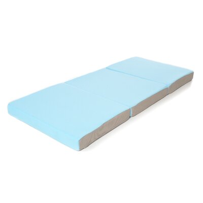 Toddler Foam Mattress Folding Bed with Soft Removable Cover