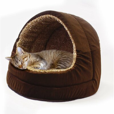 Premium Plush Hooded Pet Bed