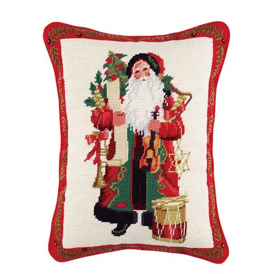 Holiday Cotton Lumbar Pillow