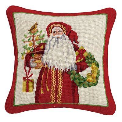 Santa Throw Pillow