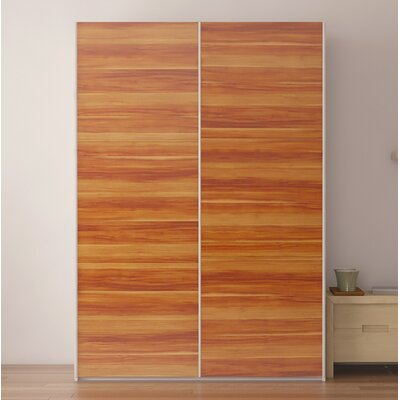 Zastrow Wood Armoire with Sliding Doors Color: Plum tree