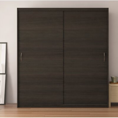 Zanders Armoire with Sliding Doors Color: Wenge