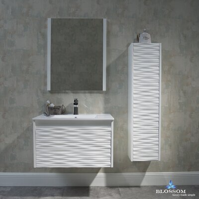 Artesian 30 Single Bathroom Vanity Set with Mirror