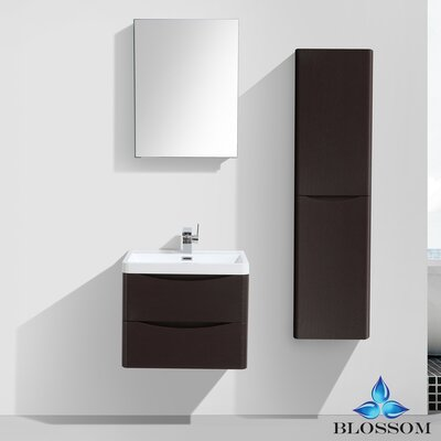 Mancini 24 Single Bathroom Vanity Set with Mirror