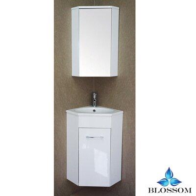 Mancuso 16 Single Bathroom Vanity Set with Mirror
